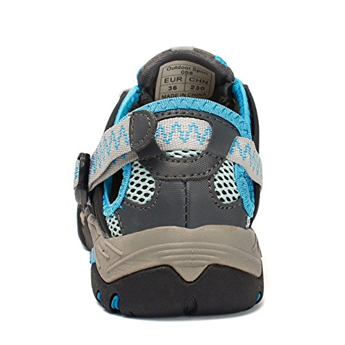 Ymombest Amphibious Hiking Blue Walking Closed Sport Breathable Toe Sandals Athletic Shoes fRxdwqrR