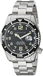 Momentum Men's 1M-DV52B0 M50 Mark II Military-Inspired Stainless Steel Bracelet Watch