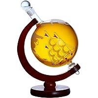 DOOST Whisky Decanter Global Set Gafas de Whisky