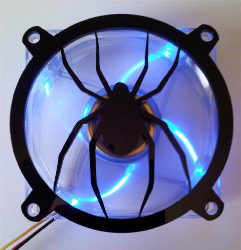 Custom Spider - Custom Acrylic Spider Computer Fan Grill 80mm