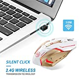 Scettar Wireless Gaming Mouse, Computer Gaming