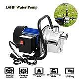 Voluker 1.6HP Stainless Steel Lawn Sprinkling Pump