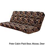 Metro Shop Outdoor Lodge Full Size Futon Cover