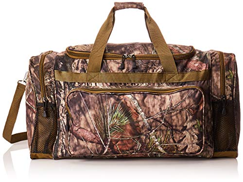 Explorer Mossy Oak Duffle Bag, 24-Inch Black Oak Fanny Pack