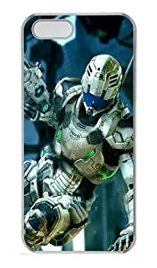 3D Robot Polycarbonate Plastic Hard Case for iPhone 5S and iPhone 5 Transparent by lolosakes