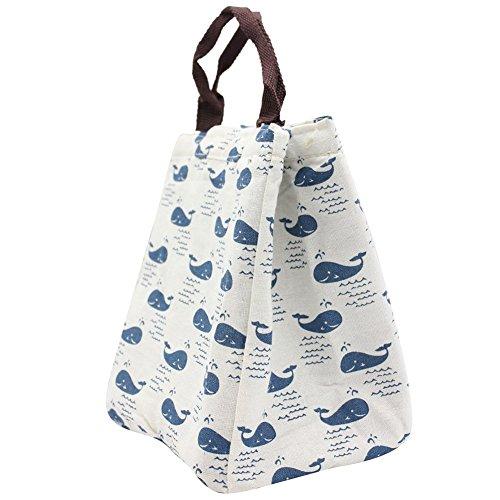 Almuerzo correa con para de impermeable portátil de mujeres hombro de Bolsa personalizado los almuerzo caja aisladas hombres almuerzo Weimay bolsas de lona reutilizables las fOqwAa