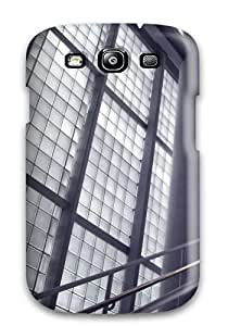 Hot Style RuBYnnQ719GzFxs Protective Case Cover For Galaxys3(iron And Glass Architecture)