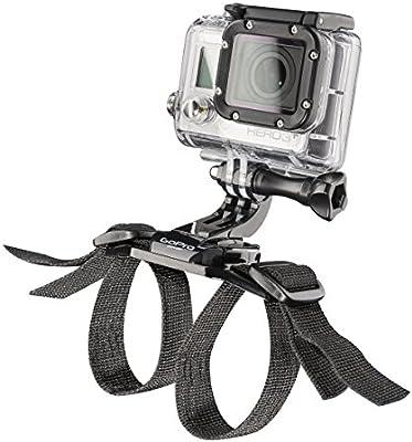 Mantona Casca para Bicicleta - Soporte para videocámaras GoPro, Negro: Amazon.es: Electrónica