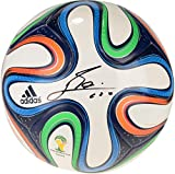 Lionel Messi Argentina Autographed World Cup Brazuca Soccer Ball - Fanatics Authentic Certified - Autographed Soccer Balls