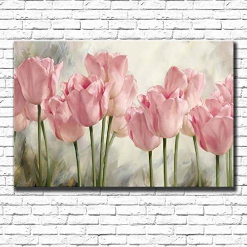 Modern Prints Artwork Tulip plant Flowers s Photo Paintings Print
