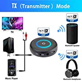 Golvery Bluetooth V5.0 Transmitter Receiver for