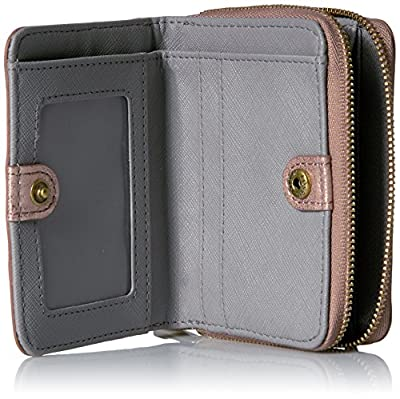 Fossil Emma Rfid Mini Multifunction-rose Gold Wallet