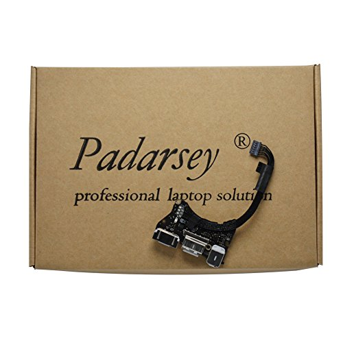 Padarsey (923-0430) I/O Board w/USB, Audio, DC-in 2 Compatible for MacBook Air 11'' A1465 (Mid 2013, Early 2014, Early 2015)(Notice:NOt for A1466 MacBook AIR 13 INCH) by Padarsey