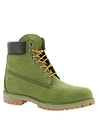 "Timberland Men's 6"" Premium Waterproof Boot, Pesto"
