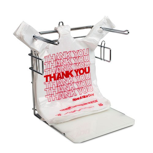 Royal 1/6 Poly Bag Rack, Metal Stand, Package of 2 by Royal