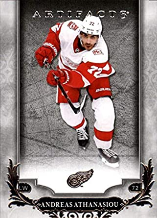 Hockey NHL 2018-19 Upper Deck Artifacts  67 Andreas Athanasiou  67 NM+ Red 5970a7c45