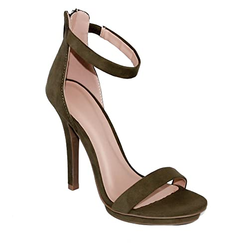 858d9447a35ed Image Unavailable. Image not available for. Color: Wild Diva Women's High  Heel ...