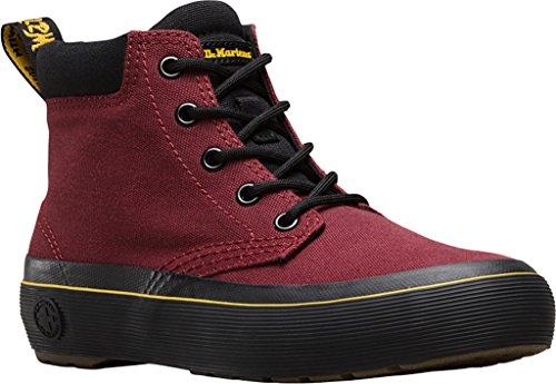Cherry Women's Canvas Chukka Boot Allana Black Dr Martens Red aHWc48X