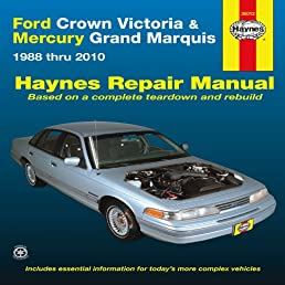 ford crown victoria mercury marquis 1988 thru 2010 hayne s rh amazon com 2006 mercury grand marquis ls owners manual 2009 Mercury Grand Marquis