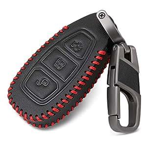 Amazon.com: Thie2e - Funda de piel para llaves de coche ...
