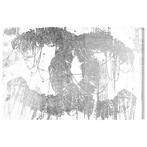 The Oliver Gal Artist Co. Hey Lolita Silver' Canvas Art, 15