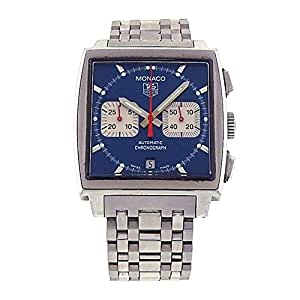 Tag Heuer Monaco automatic-self-wind mens Watch CW2113.BA0780 (Certified Pre-owned)