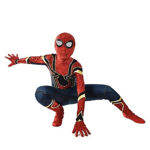 ZHANGQI Unisex Adultos Niños Los Vengadores Superhéroe Spiderman ...