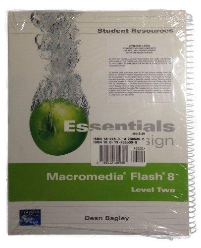 Essn for Desgn Macromed Flash 8 Lv2&s/CD Pk (Essentials for Design)