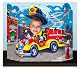 Fire Truck Photo Prop Party Accessory (1 count) (1/Pkg)