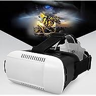 Ubmsa vidéo réalité virtuelle 3d VR Box Google Carton Lunettes + Bluetooth Manette de jeu pour iPhone 55S 6Plus Samsung S3Edge Note 4et 3,5–15,2cm Smartphone pour 3d Films et jeux et Carbide PCB;