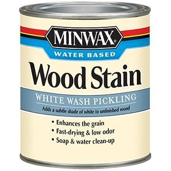 Minwax 618604444 White Wash Pickling Stain Quart