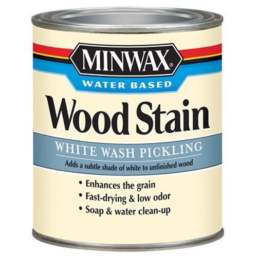 Minwax 618604444 White Wash Pickling Stain, quart (White Antique Wash)