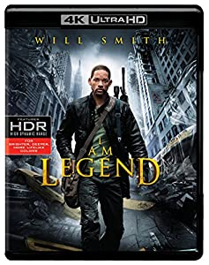 Cover Image for 'I Am Legend (4K Ultra HD)'