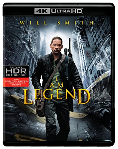 I Am Legend (4K Ultra HD) [Blu-ray]