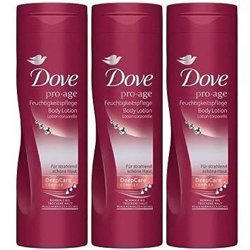 dove pro age body lotion