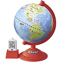 Country character globe