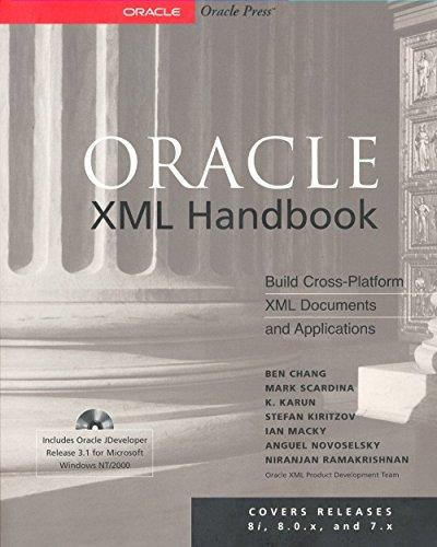 Download Oracle XML Handbook (Oracle Press Series) Pdf