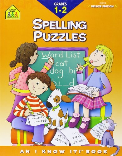 By Joan Hoffman Spelling Puzzles, Grades 1-2 (School Zone's I Know It!) (Wkb Dlx) pdf epub