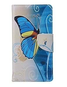YULIN caso pintado del teléfono de la PU para el iphone 6