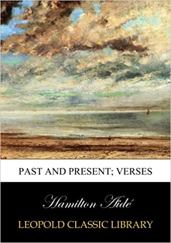 Book Past and present: verses