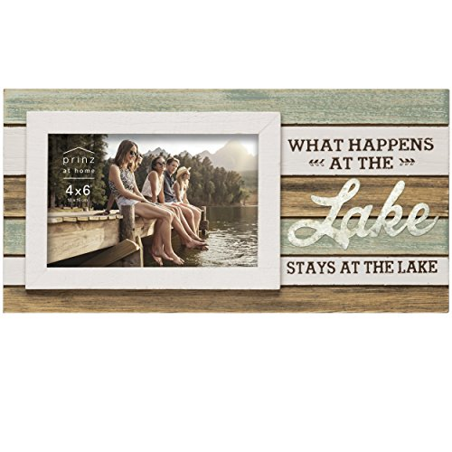 """Prinz 6x4 """"What Happens at The Lake"""" Frame"""
