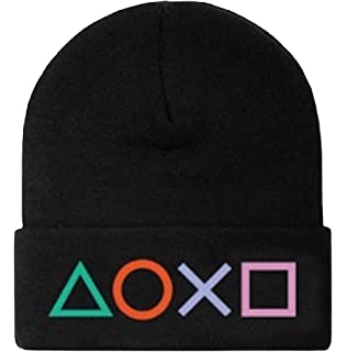 Symbols Sony PlayStation Official Beanie Hat,Cap