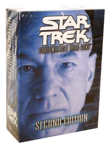 (Star Trek 2nd Edition CCG Federation Captain Picard Pre-Constructed Starter Deck)