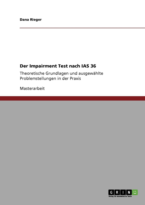 Der Impairment Test nach IAS 36 (German Edition) ebook
