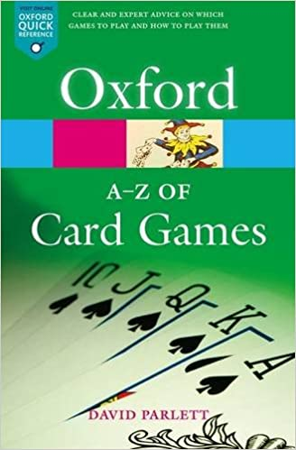 The A-Z of Card Games (Oxford Quick Reference): David