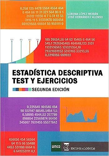 ESTADÍSTICA DESCRIPTIVA. EJERCICIOS Y TEST: Amazon.es ...