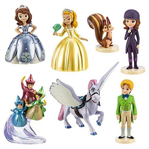 Disney Sofia the First 7 piece Figure Play Set - 1