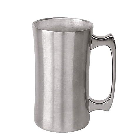 Jarra de Cerveza, Acero Inoxidable Taza de té/Cerveza/café ...