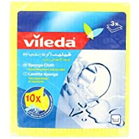 Vileda Power Sponge Cloth 3 Pieces