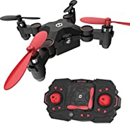 Holy Stone HS190 Foldable Mini Nano RC Drone for Kids Gift Portable Pocket Quadcopter with Altitude Hold 3D Fl